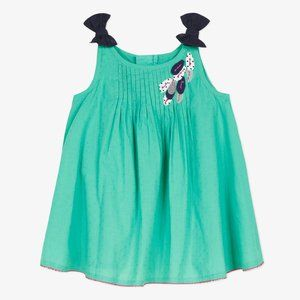 NWT Catimini Smocked Dress with Bows- 18M